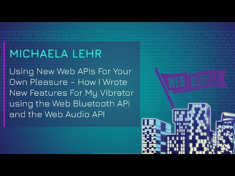 Using New Web APIs For Your Own Pleasure