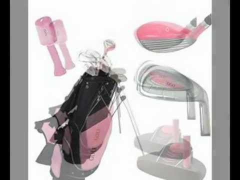 Best Golf Girl Junior Club Set for Kids Ages 8-12 RH w/Pink Stand Bag Low Price