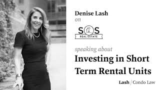 Investing in Short Term Rental Units