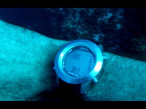 COZUMEL  Scuba diving - Yucaab- Tunich Wall 38mt 0 bottom time Scubapro Meridian