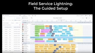 The Guided Setup - Field Service Lightning - Spring '18