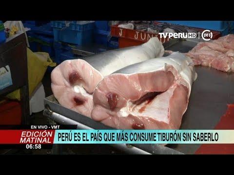 Perú es uno de los países que más consume tiburón sin saberlo