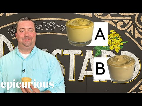 Mustard Expert Guesses Cheap vs Expensive Mustard | Price Points | Epicurious