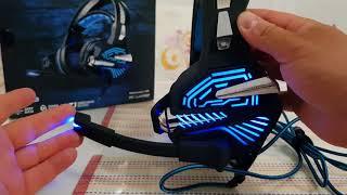Beexcellent GM-9 Gaming Headset mit Mic LED-Kopfhörer Dolby 7.1 Stereo Sound