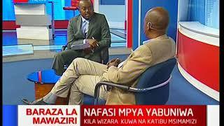 Rais Uhuru Kenyatta abuni majina za waziri: Mbiu ya KTN