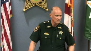 Sheriff Bob Gualtieri's Response To Media On- April 22, 2016