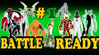 Ben 10 Battle Ready Part 1 Ben taking a Sh*t while transforming