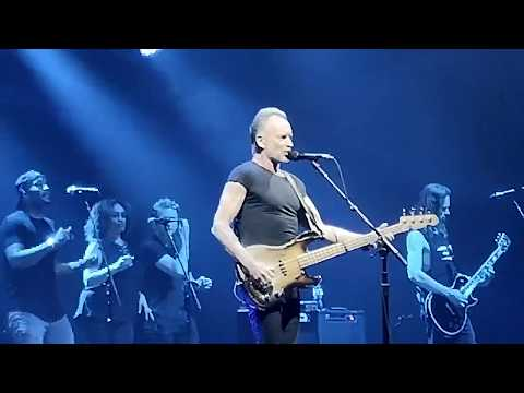 Sting   Message In A Bottle Live in Sofia Bulgaria 01.06.2019. MY SONGS TOUR 2019