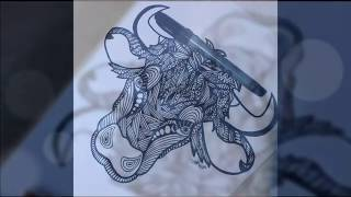 How To Draw Zentangle Animals Free Video Search Site Findclip
