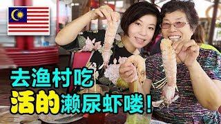 35中国人在大马生活:每次带中国朋友去吃的濑尿虾【马来西亚槟城】
