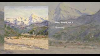 Piano Sonata, Op. 1