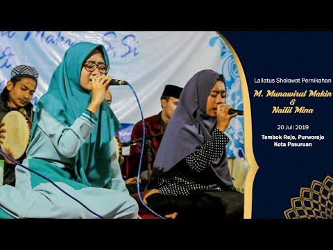 Syauqun Ila's Fam - Yahamamal Madinah | Lailatus Sholawat Pernikahan M. Makin & Nailil Mina