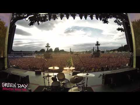 A magical moment. 65,000 people singing Bohemian Rhapsody before a Green Day concert in London.
