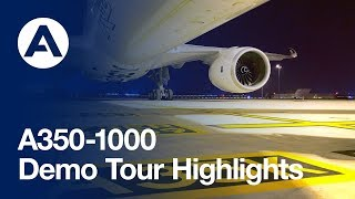 Highlights: A350-1000 demo tour