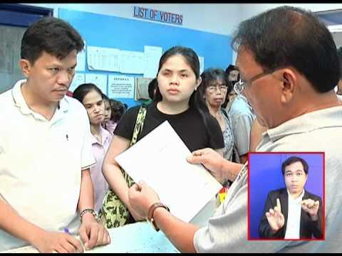Image of the video: Voter registration