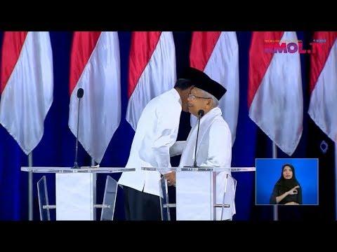 Debat Pilpres: Pernyataan Penutup Jokowi-Maruf Amin