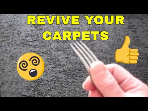 DIY How To Restore Carpet Pile (The Yorkshire Digger)
