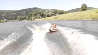 preview picture of video 'Funtube auf der Weser bei Heinsen 2'