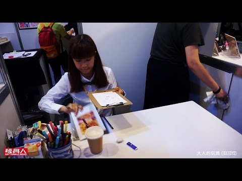 【台北國際玩具創作大展】2016 Taipei Toy Festival 現場報導 - 上篇