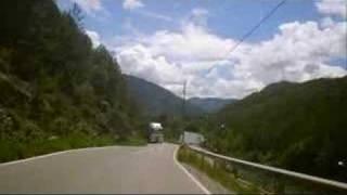 preview picture of video 'Triumph Tiger 1050 Spanien N-260 Schlucht von Seira nach Campo Teil 2'