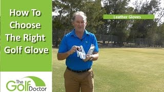 Golf Glove Fitting - How To Choose The Right Golf Glove