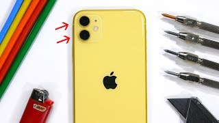 Apple iPhone 11 Durability Test - is the cheap iPhone different?