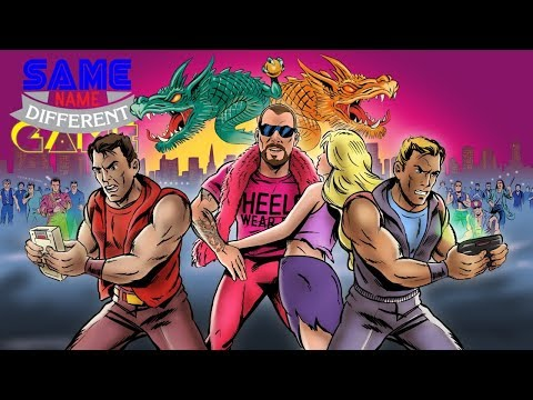 Same Name, Different Game: Double Dragon Revisited (Game Boy vs. Game Gear)