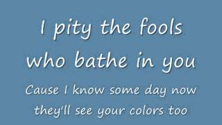 Duffy - Rain on your parade (Lyrics)