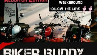 ROYAL ENFIELD BS4 REDDITCH EDITION.WALKAROUND .PRICE.IN KERALA.COLOURS.BLUE .GREEN.RED
