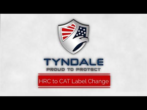 HRC to CAT label change notice