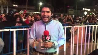 El TRI no quiso dar entrevistas en el Carnaval de La Paz