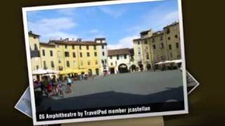 preview picture of video 'Riding around the city walls Jcastellan's photos around Lucca, Italy (lucca italy 14th august)'