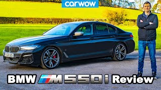 [carwow] BMW M550i 2021 review - see why it\\\\