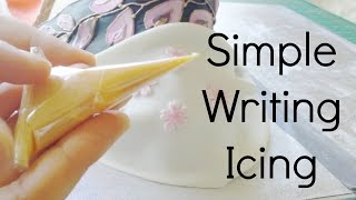 how to make cream with icing sugar and milk