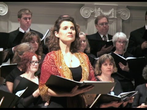 Elaine Lemieux, mezzo-soprano sings with The Music Institute Choral of The Music Institute of Chicago
