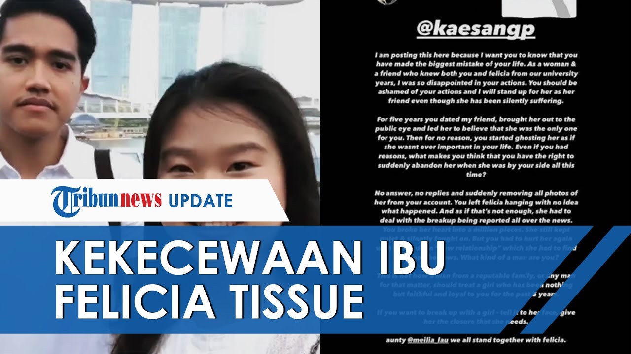 Nama Kaesang Pangarep Trending seusai Isu Putus dengan Felicia Tissue, Meilia Lau Umbar Kekecewaan