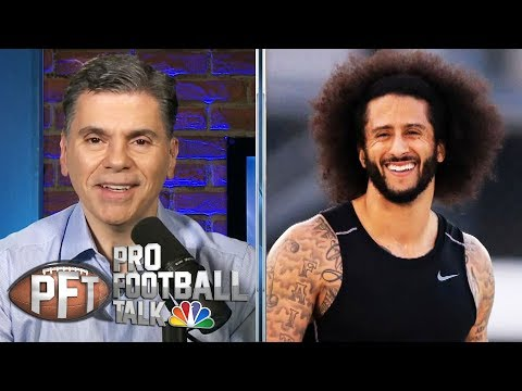 PFT Overtime: Seahawks' interest in Kaepernick, change in Carolina | Pro Football Talk | NBC Sports