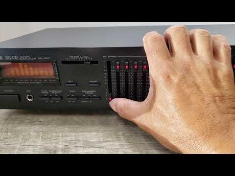 Yamaha EQ-550 10-Band Graphic Equalizer and Spectrum Analyzer