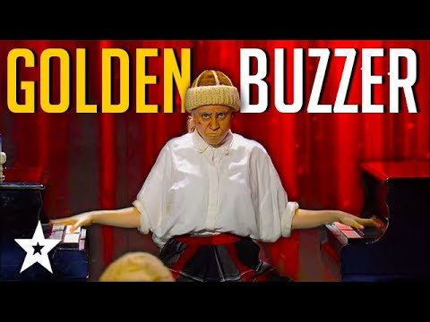GOLDEN GIRL Plays 2 Pianos At Once on Israel's Got Talent | Got Talent Global