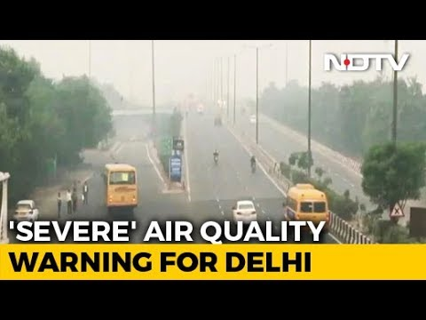 """Air Quality In Delhi Slips To """"Severe"""" Category Again"""