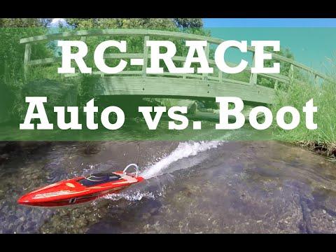 RC Boot vs. RC Auto mit überraschendem Ergebnis selbst für ferngesteuerte Autos Fans