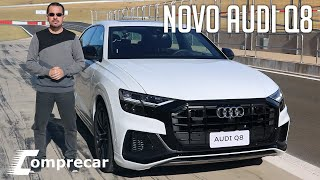 Novo Audi Q8 - Teste na pista e off-road