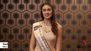Introduction Video of Saskia Wagner Miss South Africa 2017 Contestant from Johannesburg, Gauteng
