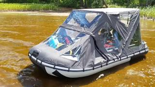 Тенты для лодок ривьера 3200