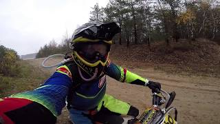 Alone In The Woods | How To Climb to Very Difficult Hill on KTM EXC-F 350