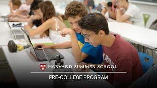 Pre-College Program at Harvard Summer School
