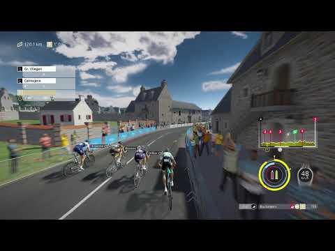 Gameplay de Tour de France 2021