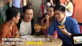 Interesting Behind The Scenes Of New Greenwich TVC Shoot With Enrique Gil, Robi Domingo And Yassi