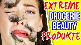 "NEUE, EXTREME DROGERIE BEAUTY PRODUKTE!! 😵 NEUHEITEN aus ""Asia DM"" | Haul Mai 2017 Live Test"