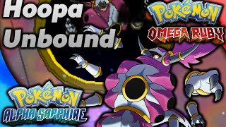 Hoopa  - (Pokémon) - How to get Hoopa Unbound in Omega Ruby and Alpha Sapphire